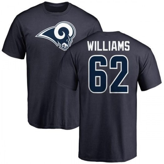 Jonah Williams Los Angeles Rams Youth Navy Name & Number Logo T-Shirt -